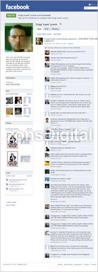 Si buron Craig 'Lazie' Lynch di Facebook