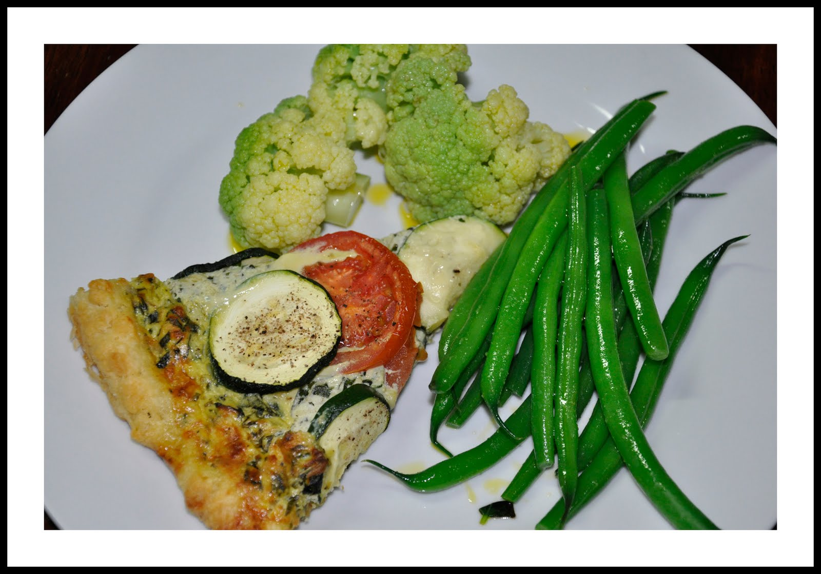 Natalia S Cooking Adventures Zucchini Tomato Ricotta Galette