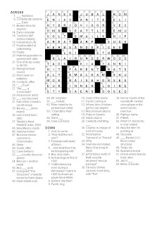 Matt Gaffney's Weekly Crossword Contest: October 2008