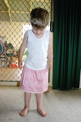 through my eyes: boys wear skirts too!