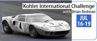 PRDA at Kohler International Challenge with Brian Redman presented by FORD