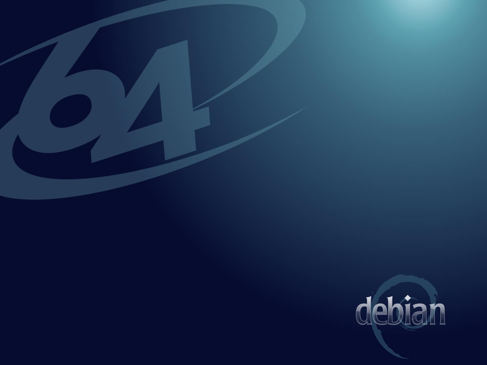 Debian Bits And Snips: Debian 64 Bit Wallpaper