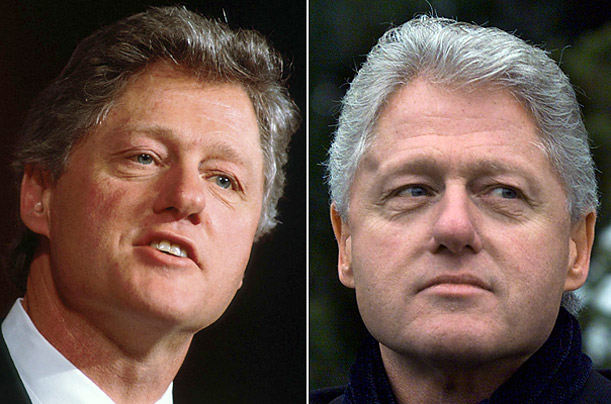 Presidents Just before and After