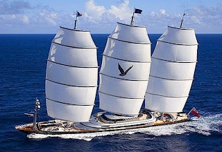 $100 Million Maltese Falcon yacht