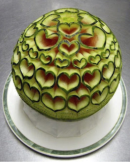 13 stunning Watermelon carving