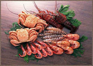 40 Beautiful ocean fresh seafood Pics