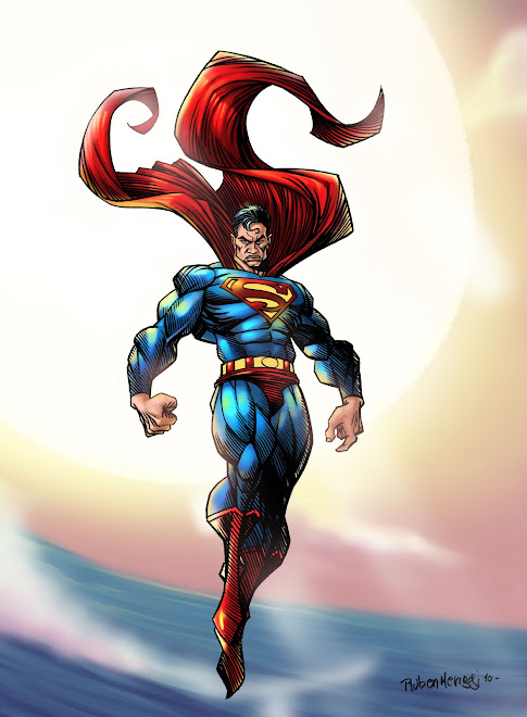 SUPERMAN / PENCIL MERIGGI / COLOR BLASON STUDIO