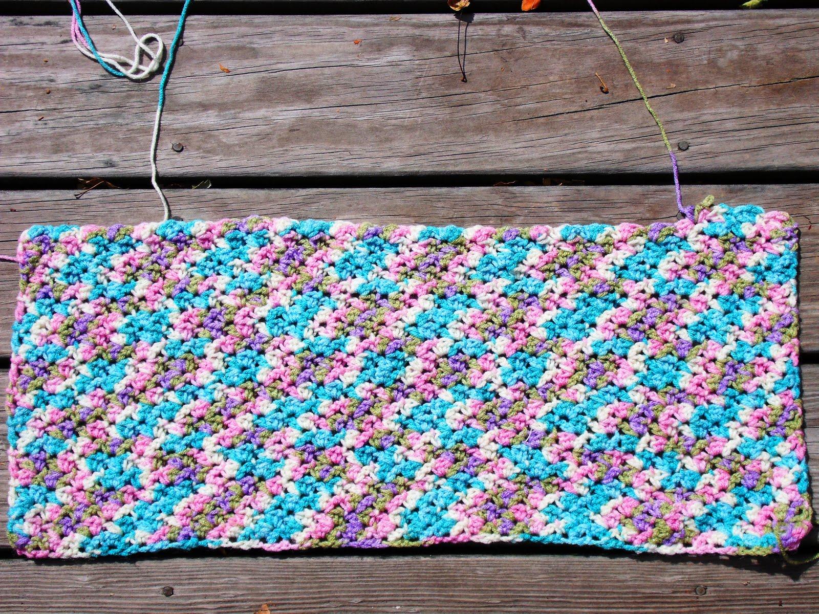 Easy Crochet Baby Blanket Pattern Crochet And Knitting