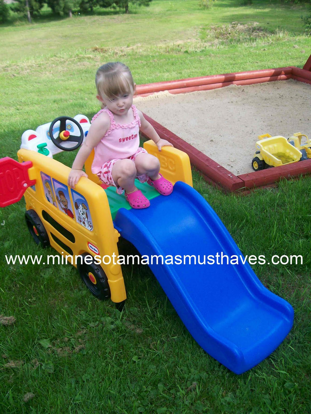 Summer Sizzle Event Kickoff Little Tikes School Bus Activity Gym Review Amp Giveaway