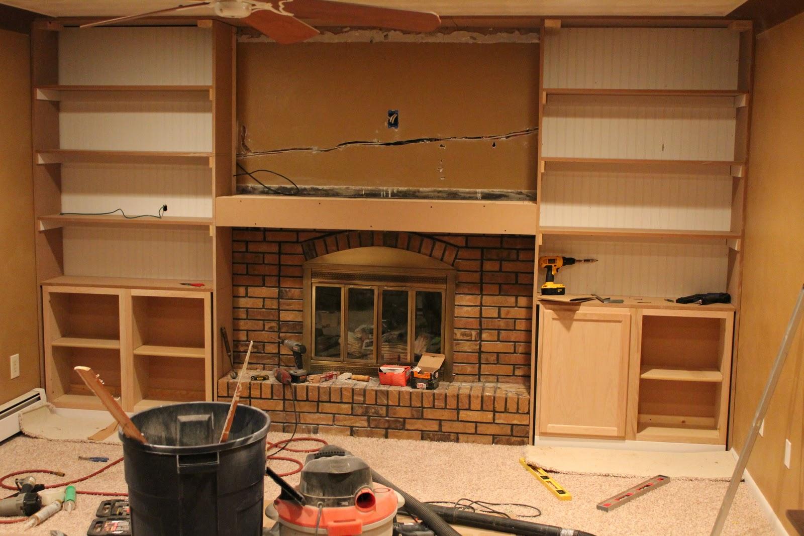 House Designs School: First Class Fireplace Makeover