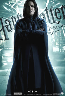 Alan Rickman as Severus Snape