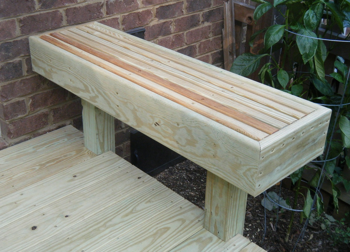Flour Sack Mama Friday With Kray Deck Bench