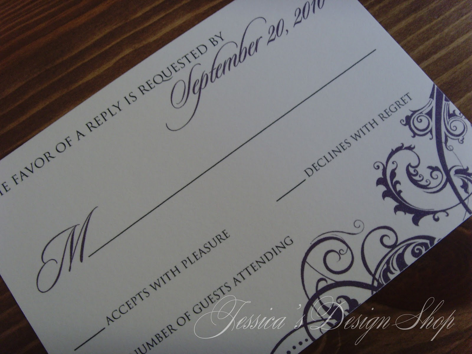 Shop Wedding Invitations: Jessica's Design Shop: Wedding Invitations