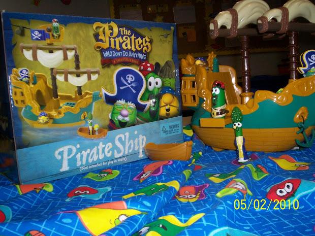 Veggietales Toys Pirates Imgurl
