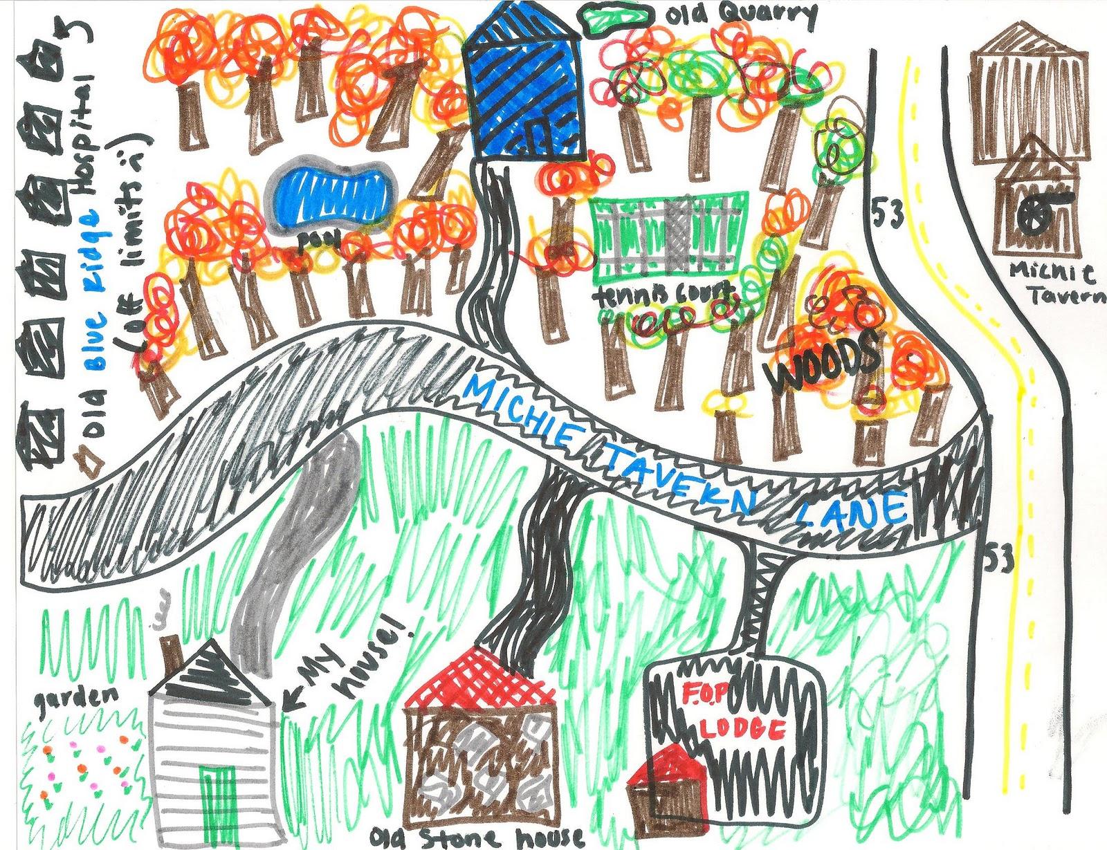 Caroline's Journal: My Neighborhood