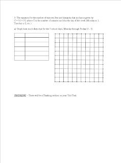 Grade 9 Applied Math: Practice Test