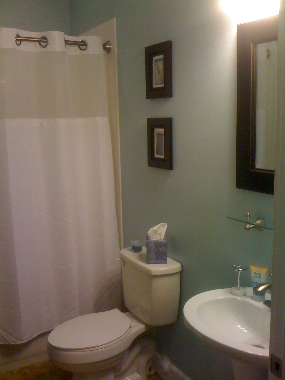 Painting over grasscloth wallpaper - Paint For A Bathroom