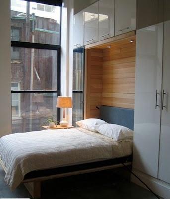 sweet murphy bed atelier drome. Black Bedroom Furniture Sets. Home Design Ideas