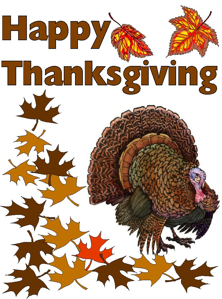 Writers In Residence: Happy Thanksgiving! Things We're
