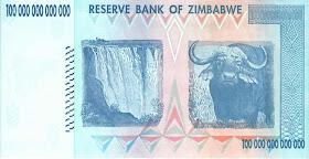 A 100 Trillion Dollar Zimbabwe Bill