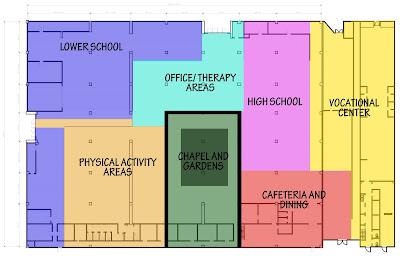 St Gabriel's School: Zoning Diagrams