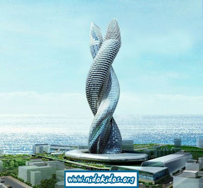 Real Photos Real Fun The Cobra Tower In Kuwait Snakes Its Way Into The Sky