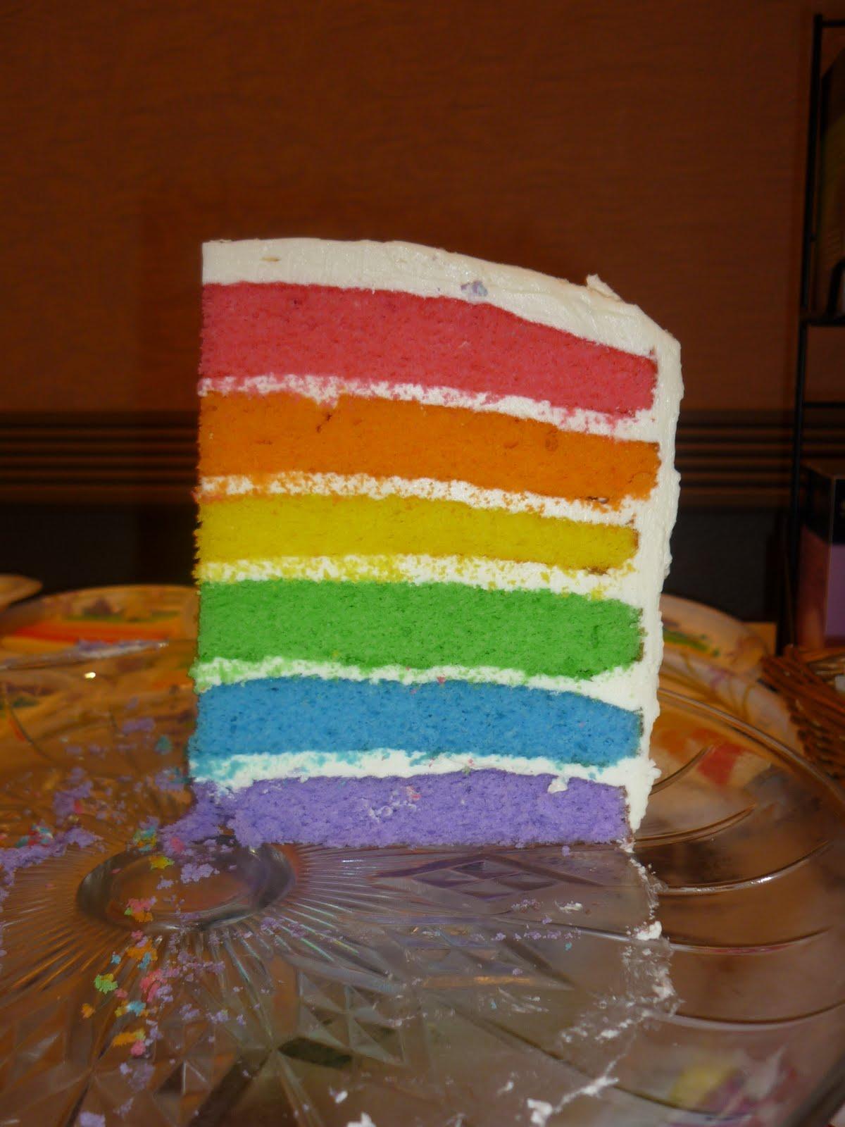 All Betz Off Rainbow Cake Six Layer Version
