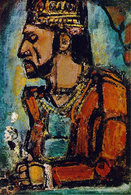 Image result for george rouault the old king
