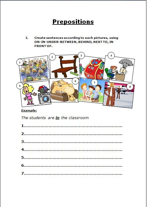 Preposition In Learn In Marathi All Complate: .: Handouts- Prepositions