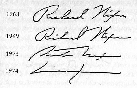 Jefferson's Rebels: Handwriting Analysis: Signatures of