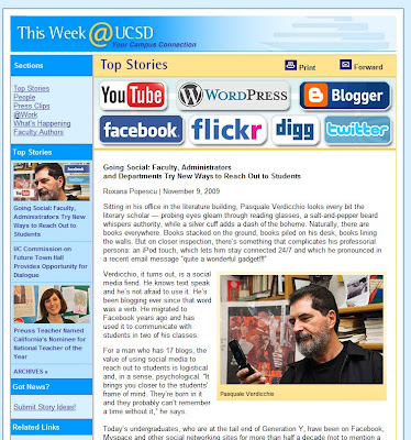 UC San Diego Jacobs School of Engineering Blog: Nov 9, 2009