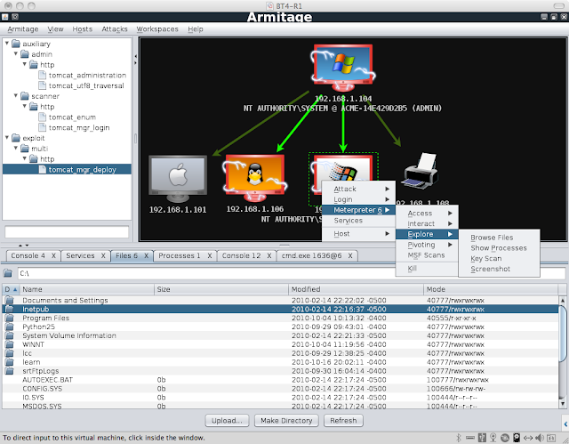 Armitage : Cyber Attack Management for Metasploit tool !