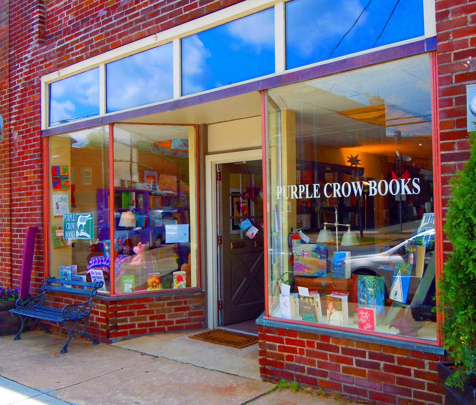 Reading Between The Lines Purple Crow Books And The Indie Spirit