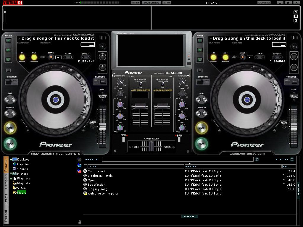 dj mixer 7