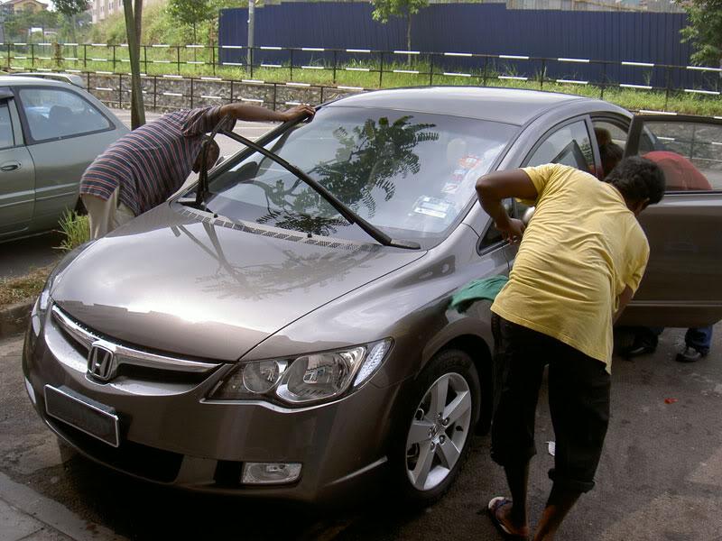 Cara Yang Betul Mencuci Kereta Sendiri