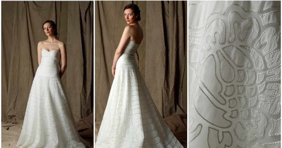 Simple Wedding Dresses Low Back: One Queen's Lane: Simple Wedding Dresses