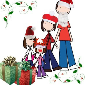 family rambling christmas