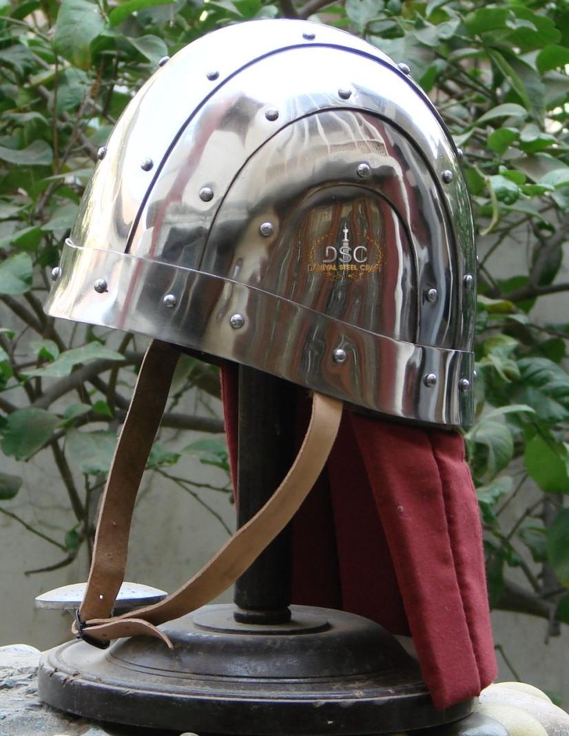 Byzantine helmet typology/evidence?