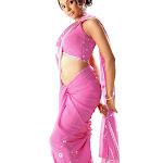 Manasvi Nirupama Hot Neval Show In Saree