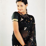 Bhavana In Black Saree