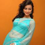 Telugu Actress Tanya In Saree