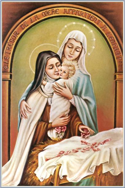 St Th 233 R 232 Se Of Lisieux