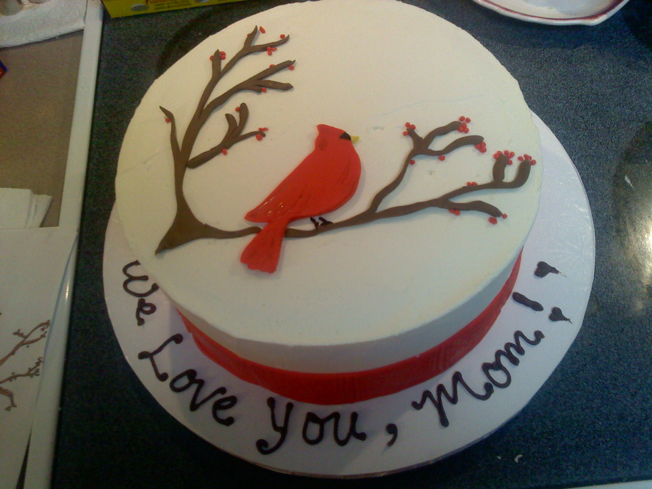 Lafayette Crews Cakes And Dainties 80th Birthday Cake