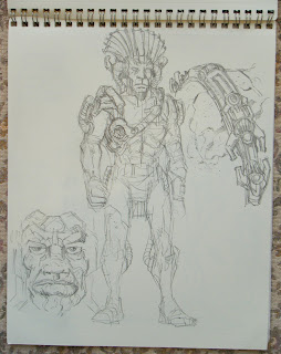 Peter Laird S Tmnt Blog Blast From The Past 162 Sketchbook Part 2