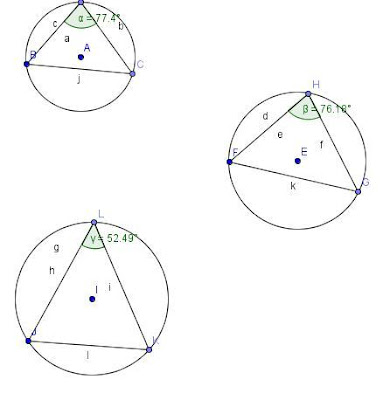 Figures Speak Mathematics: Angles in the major segment