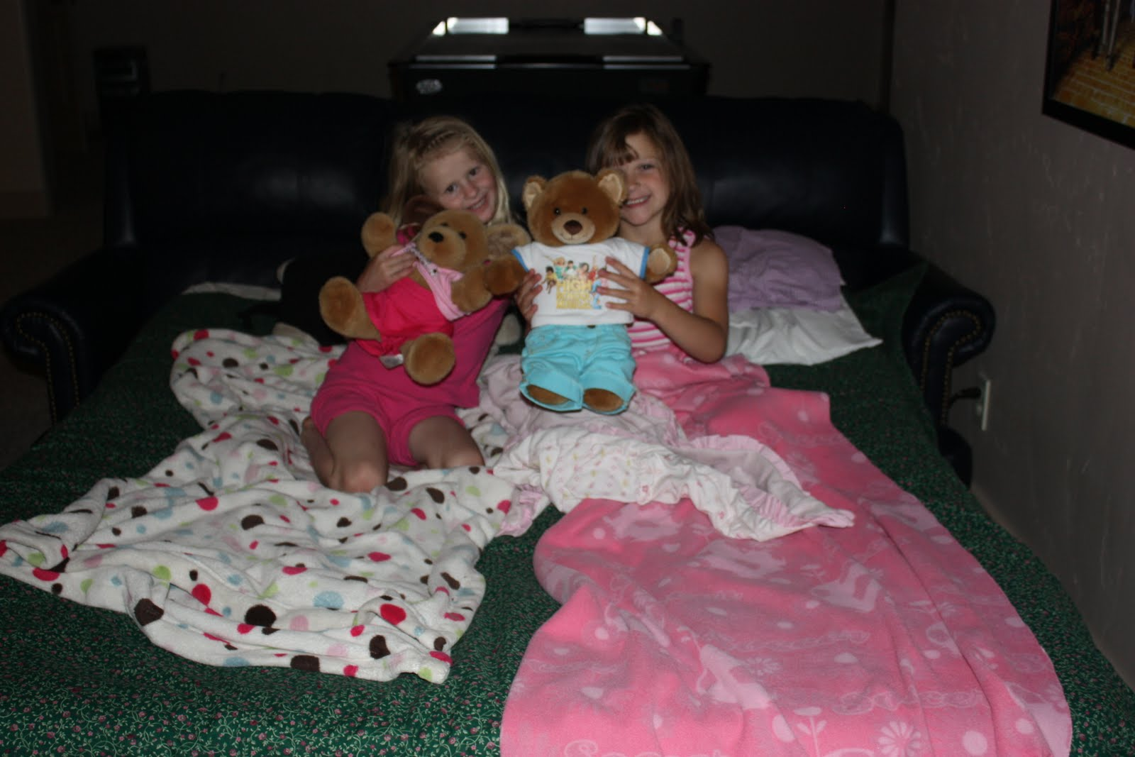 dimonds in the rough first friend sleepover
