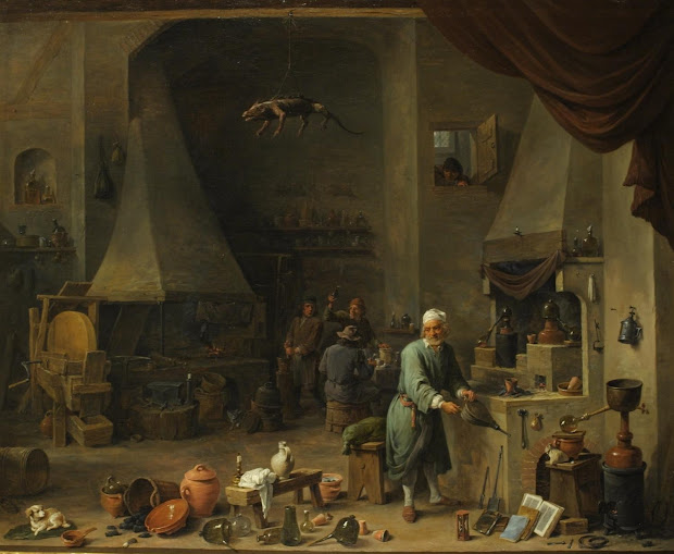 Res Obscura Domestic Life Of Alchemists