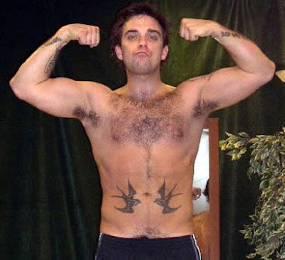Robbie Williams Tattoos on Robbie Williams Tattoos   Ideas And Pictures