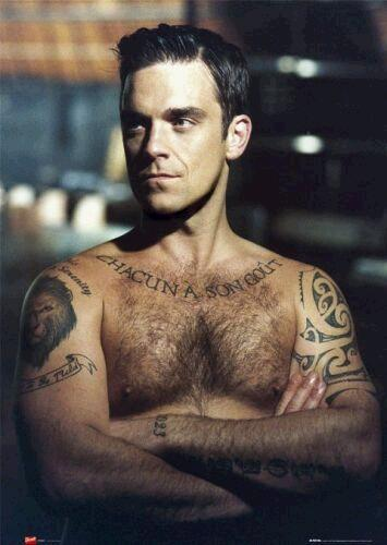 Phoenix Auto Parts >> Trend Tattoos: Robbie Williams Tattoo Designs