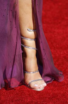 Leah remini feet